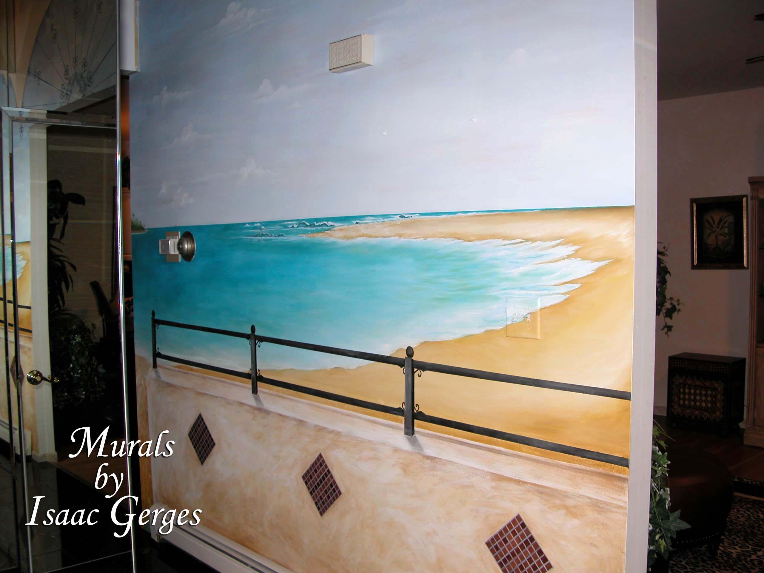 Beach Mural Long Island NJ