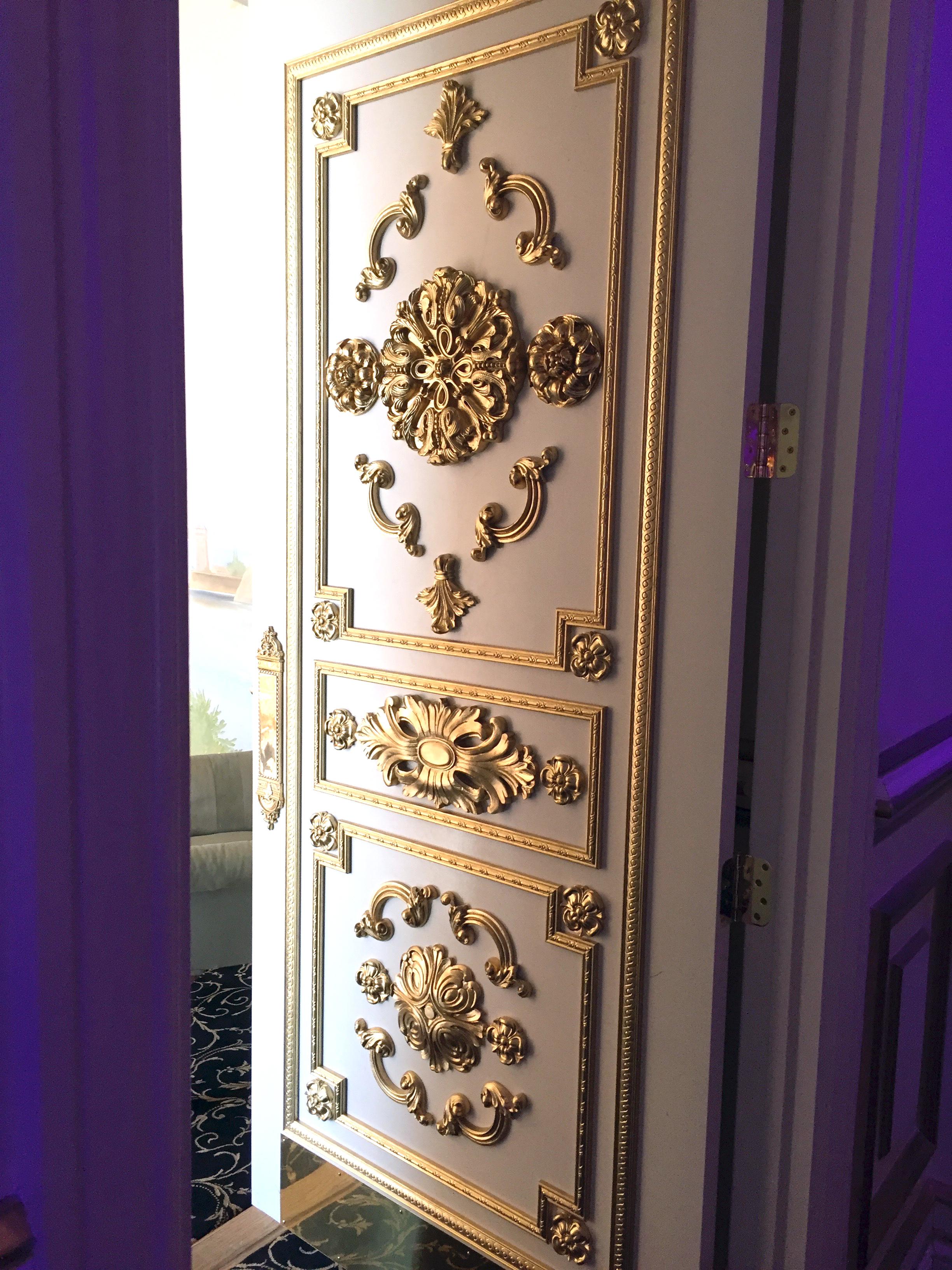 Molding Design & Gold Paint