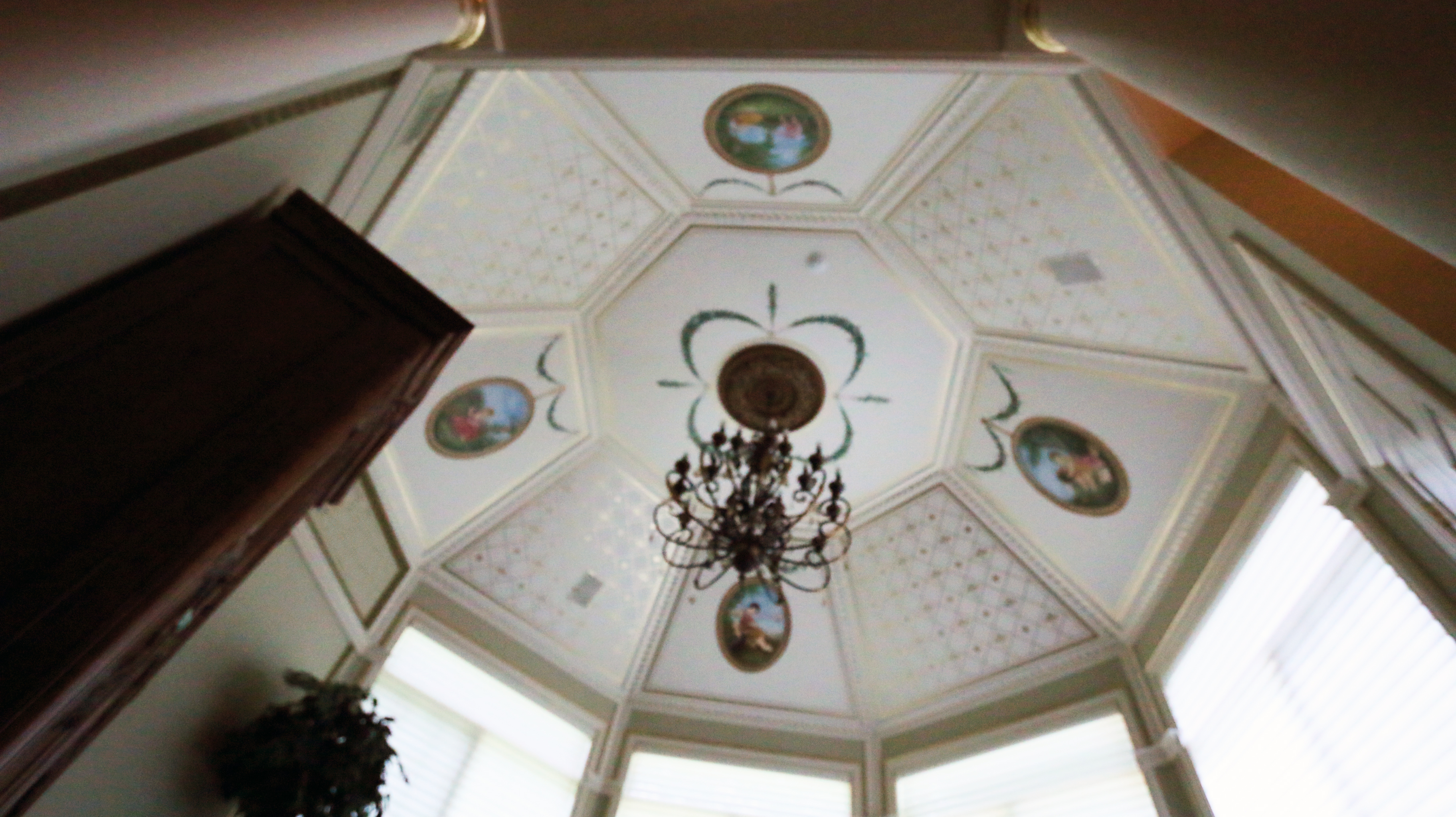 Mural and Ceiling Dome Alpine Nj
