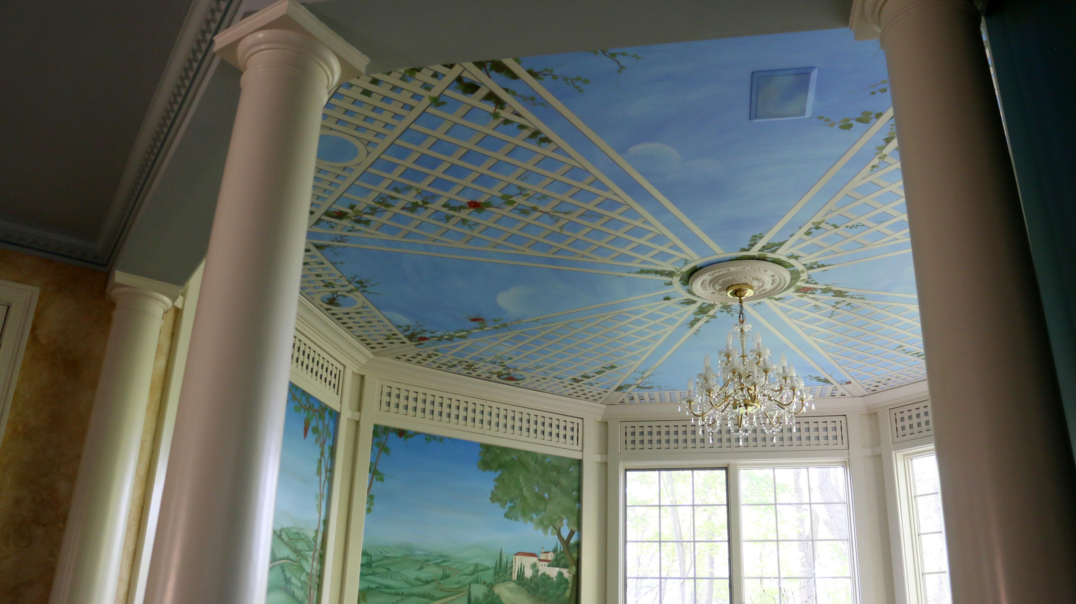 Mural Ceiling Little Silver NJ