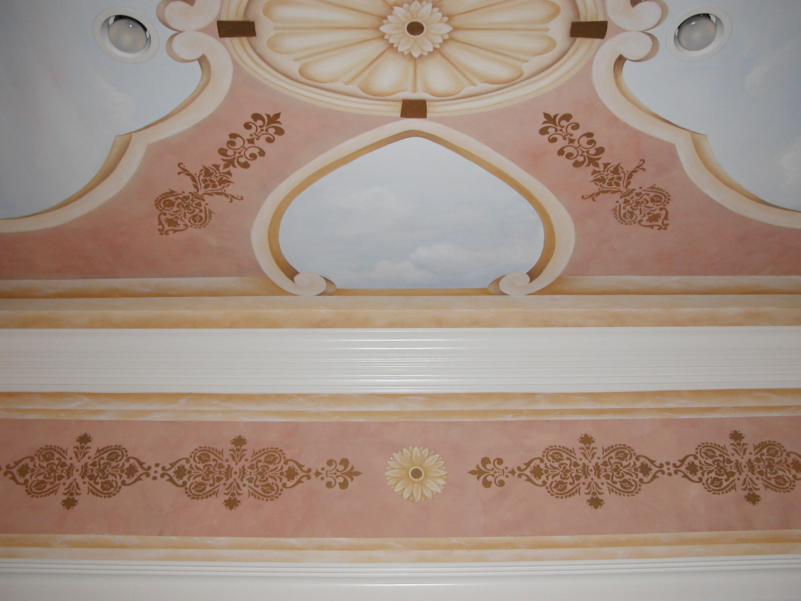Mural Ceiling Design Wyckoff NJ