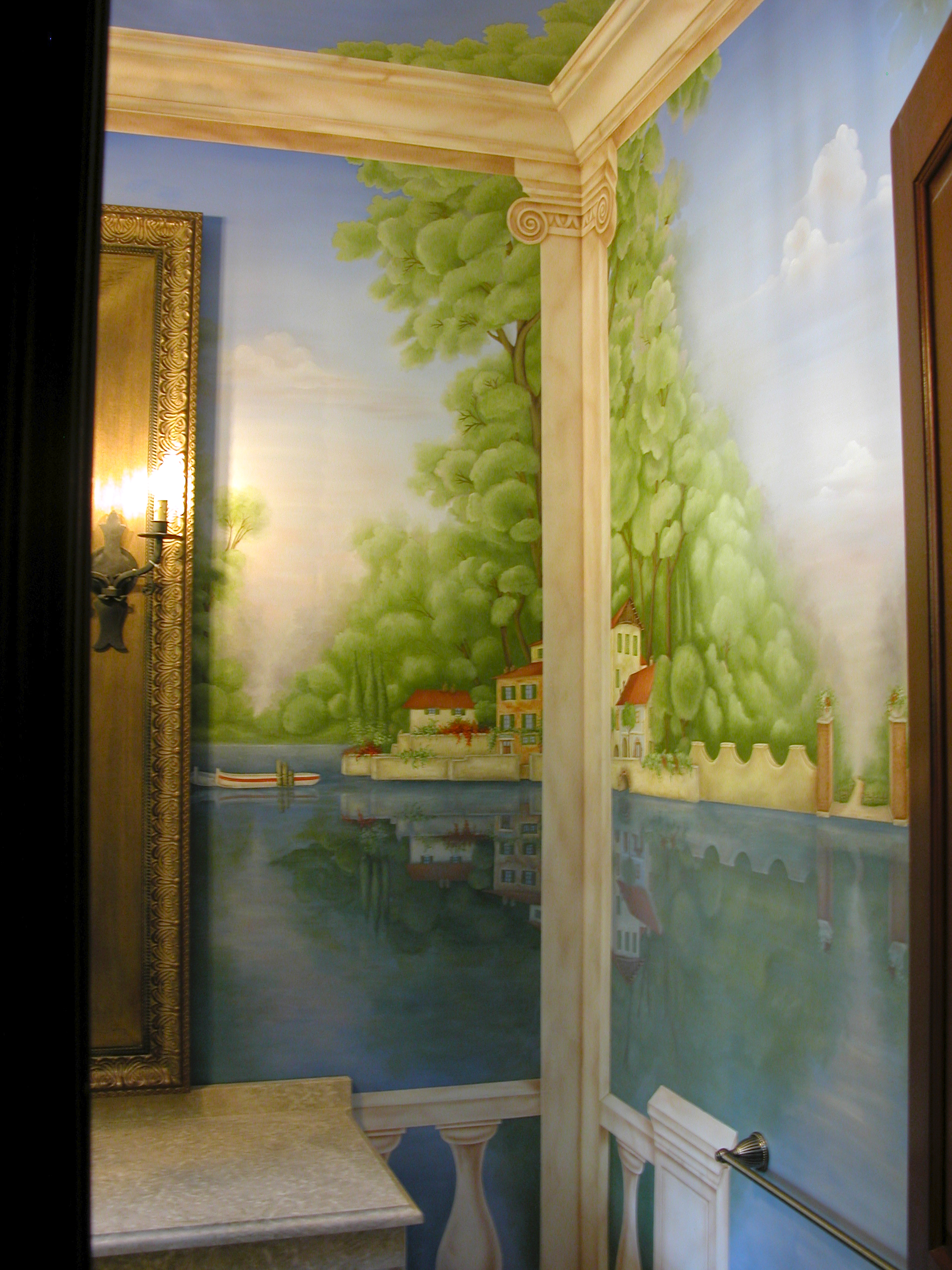 Mural Woodcliff Lake Bergen County