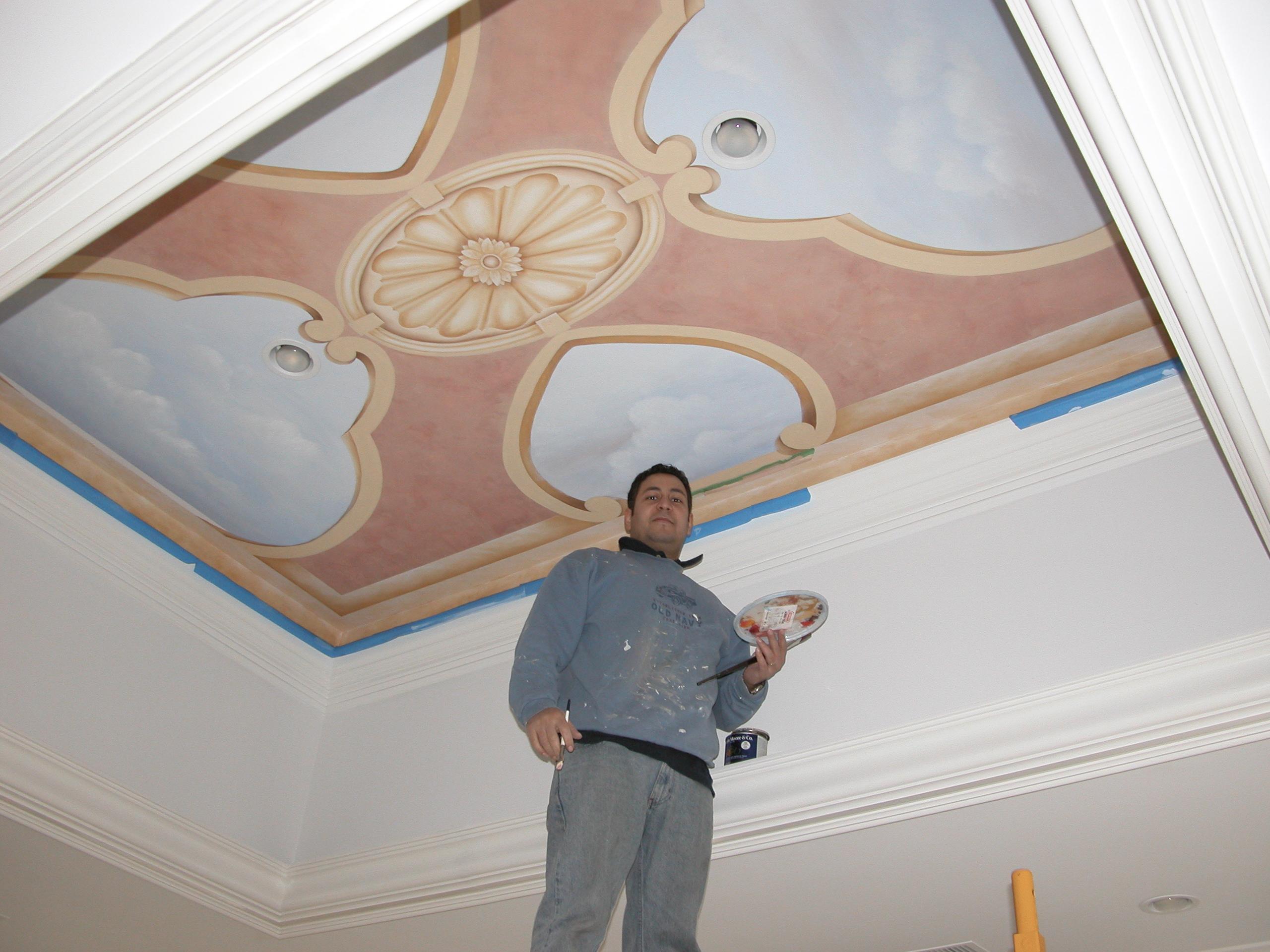 Mural Ceiling Design Tenafly NJ