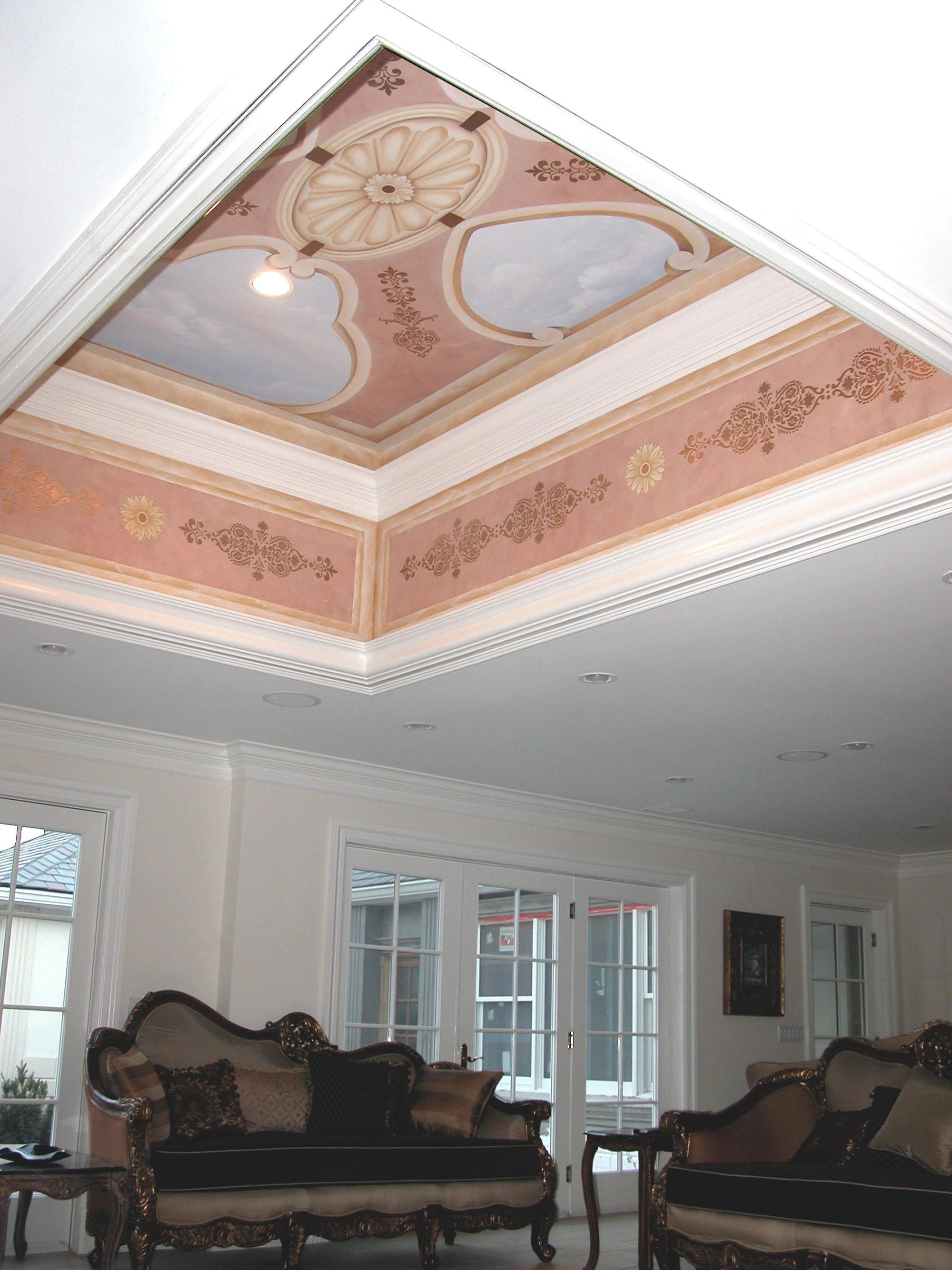 Mural Ceiling Design Kinnelon NJ