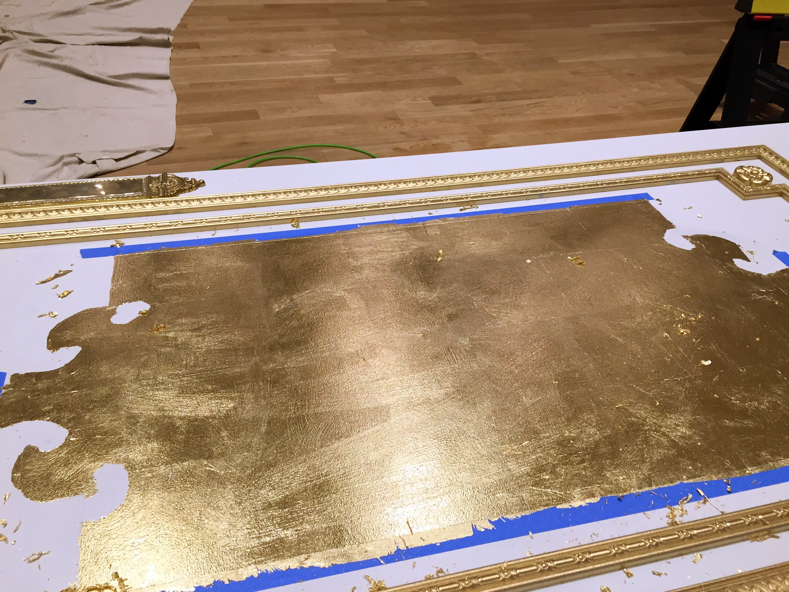 Custom Moulding & Gold Leaf