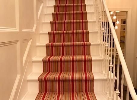Wainscoting Stairways