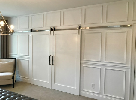 Go subtly sophisticated with wainscoting and paneling
