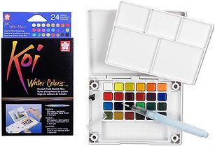 Koi Watercolor travel sets_$43.90-$76.95