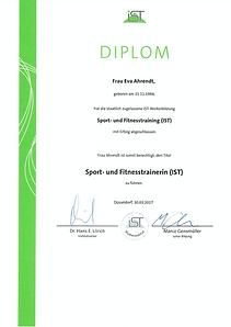 IST - Sport-und Fitnesstrainer - Bild.pn