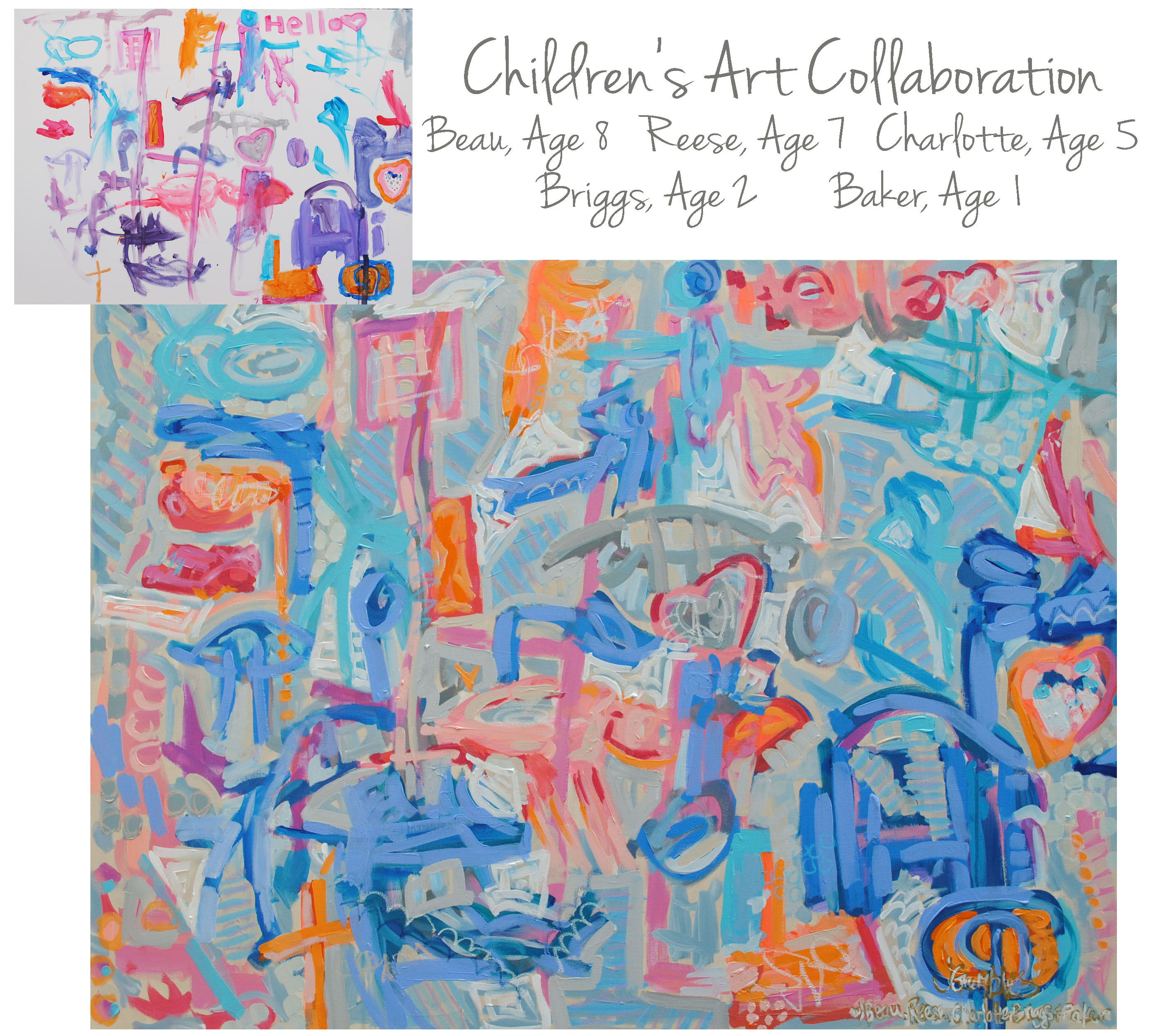 OConnor Children Collab 36x48