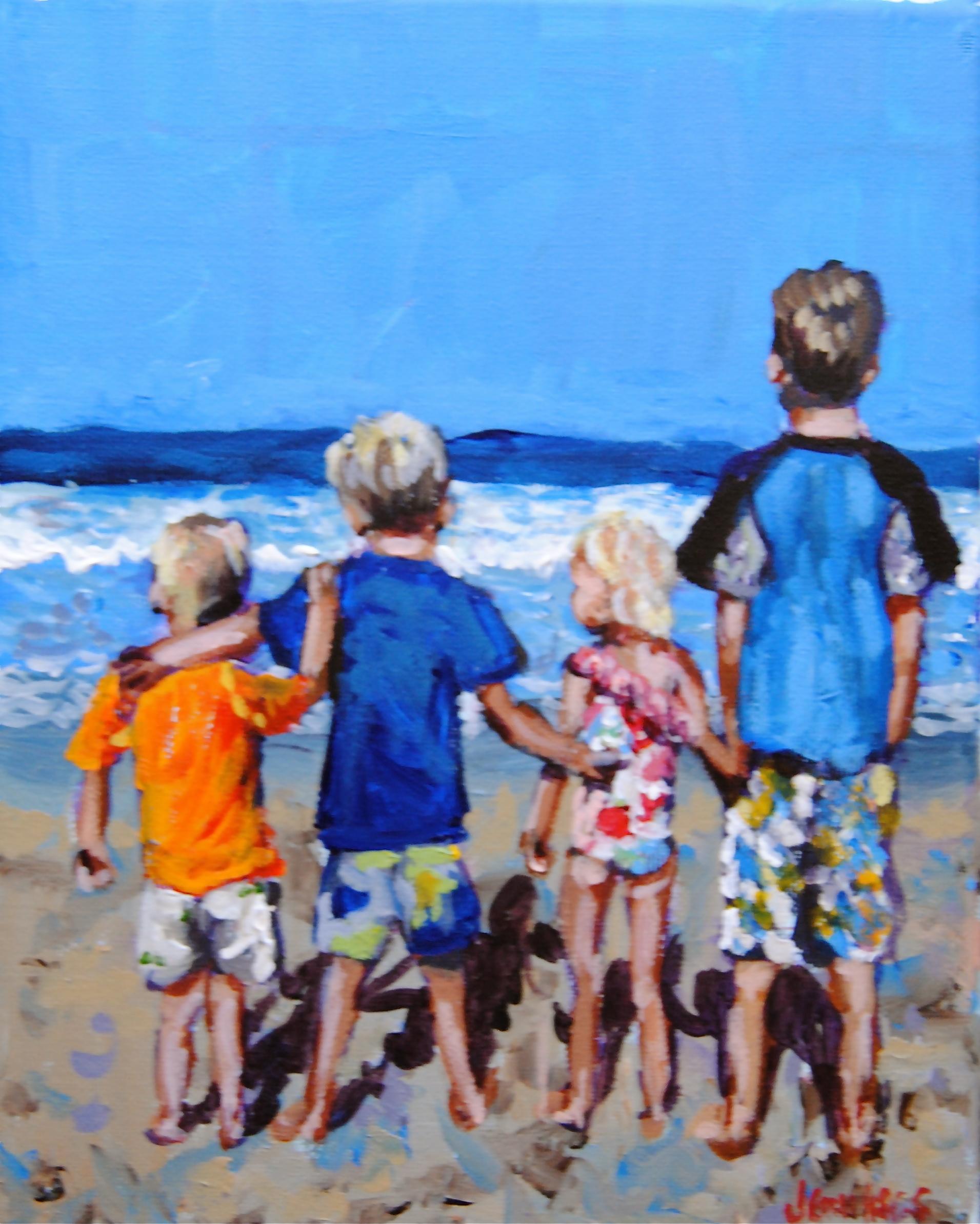 Trice Beach Kids 8x10