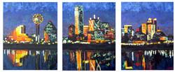 Dallas Skyline Split 54x24