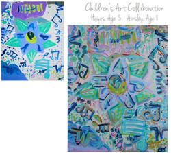 Walker Children Collab 48x60