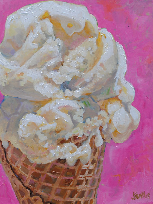 "Fine Art Print, ""We All Scream"" 8x10"