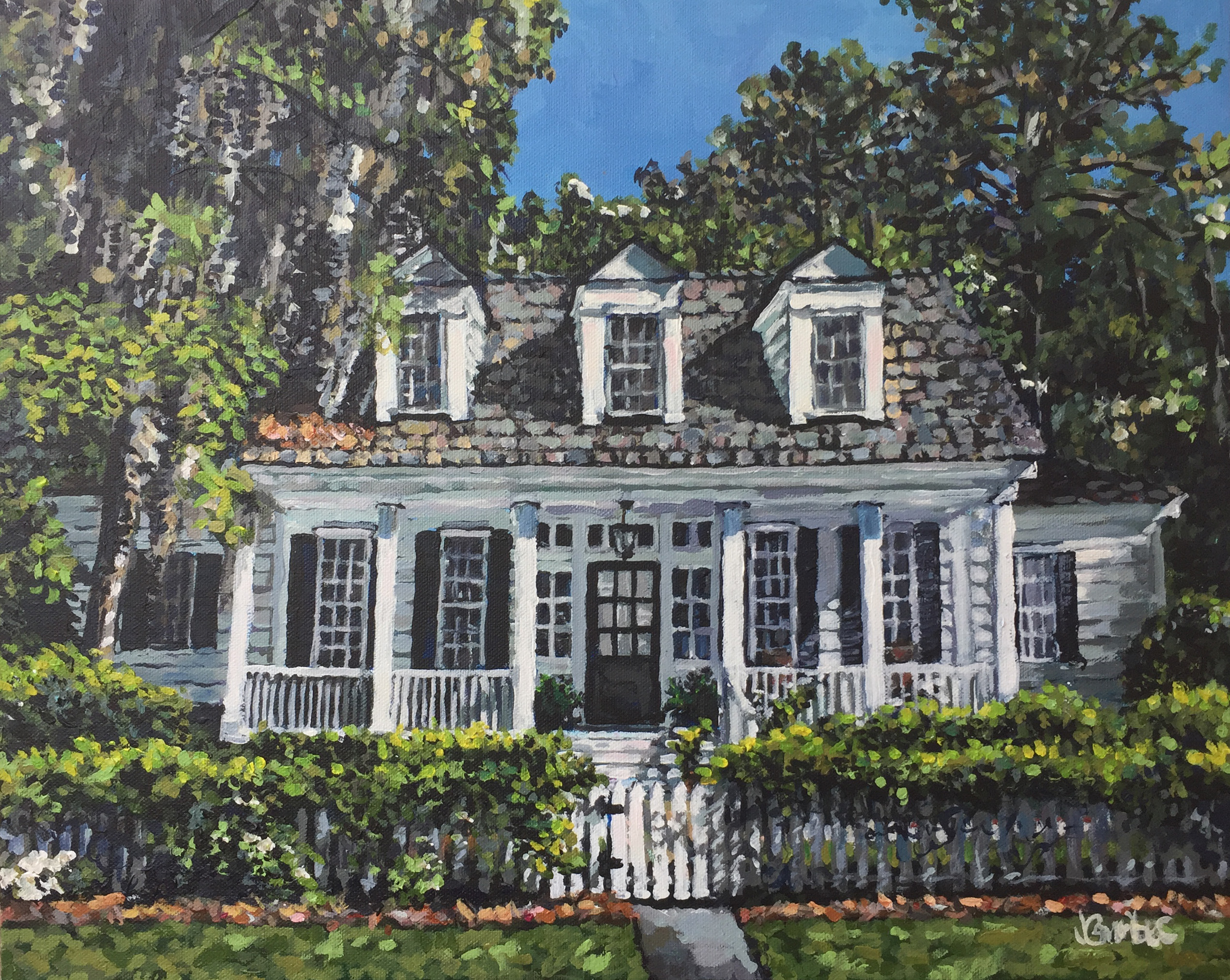 Stanley House 16x20