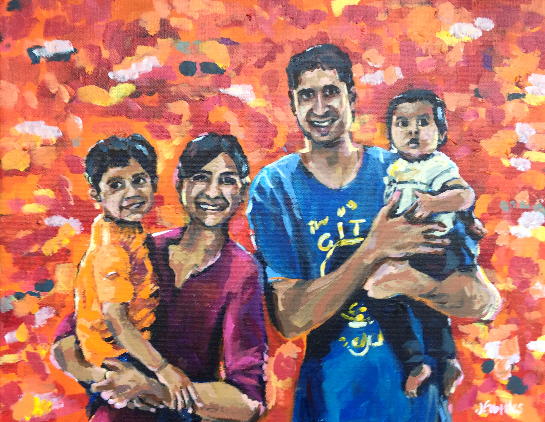 Pal Family 11x14