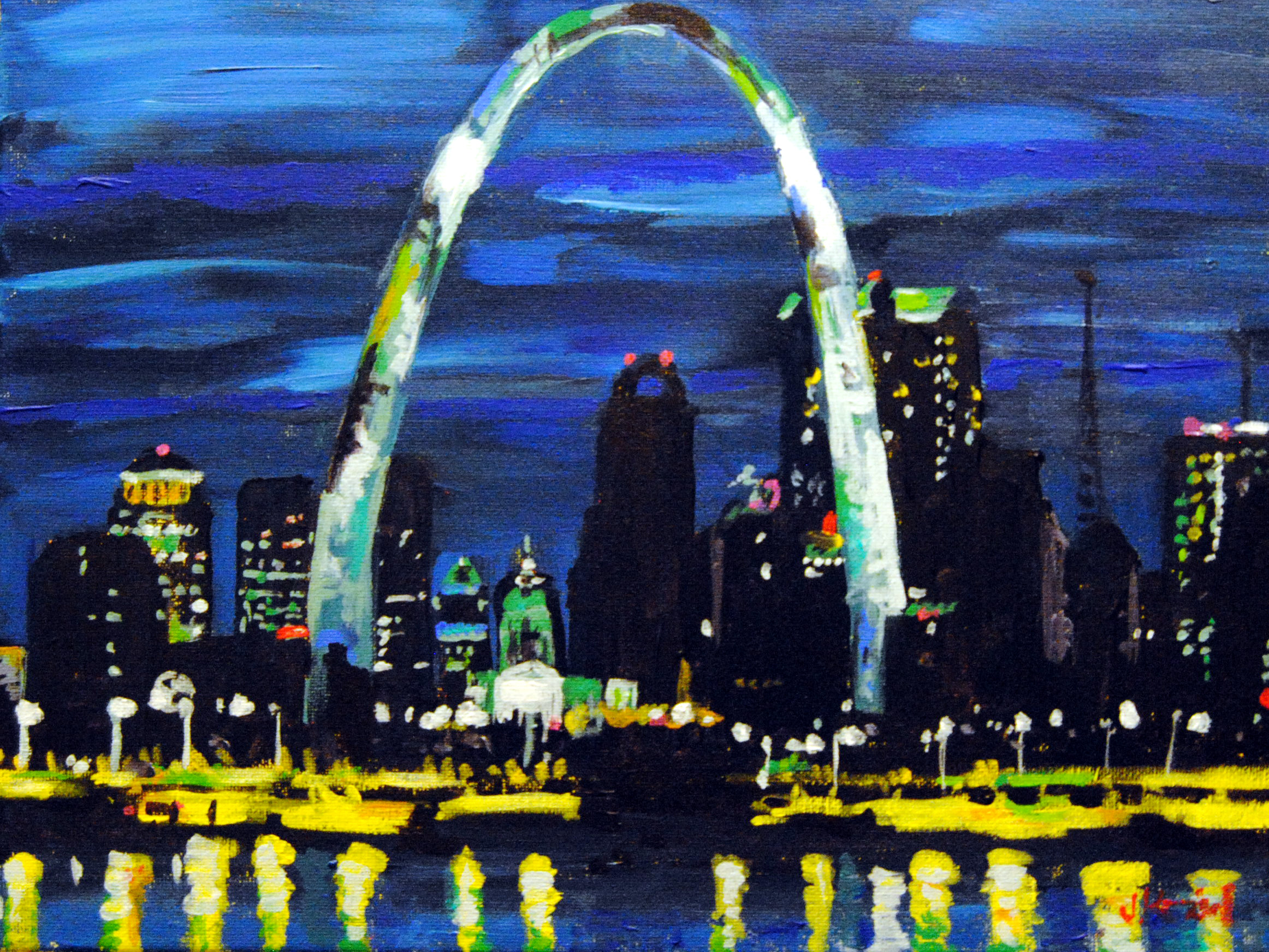 The Arch 11x14