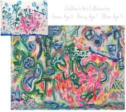 Reinhart Children Collab 36x48