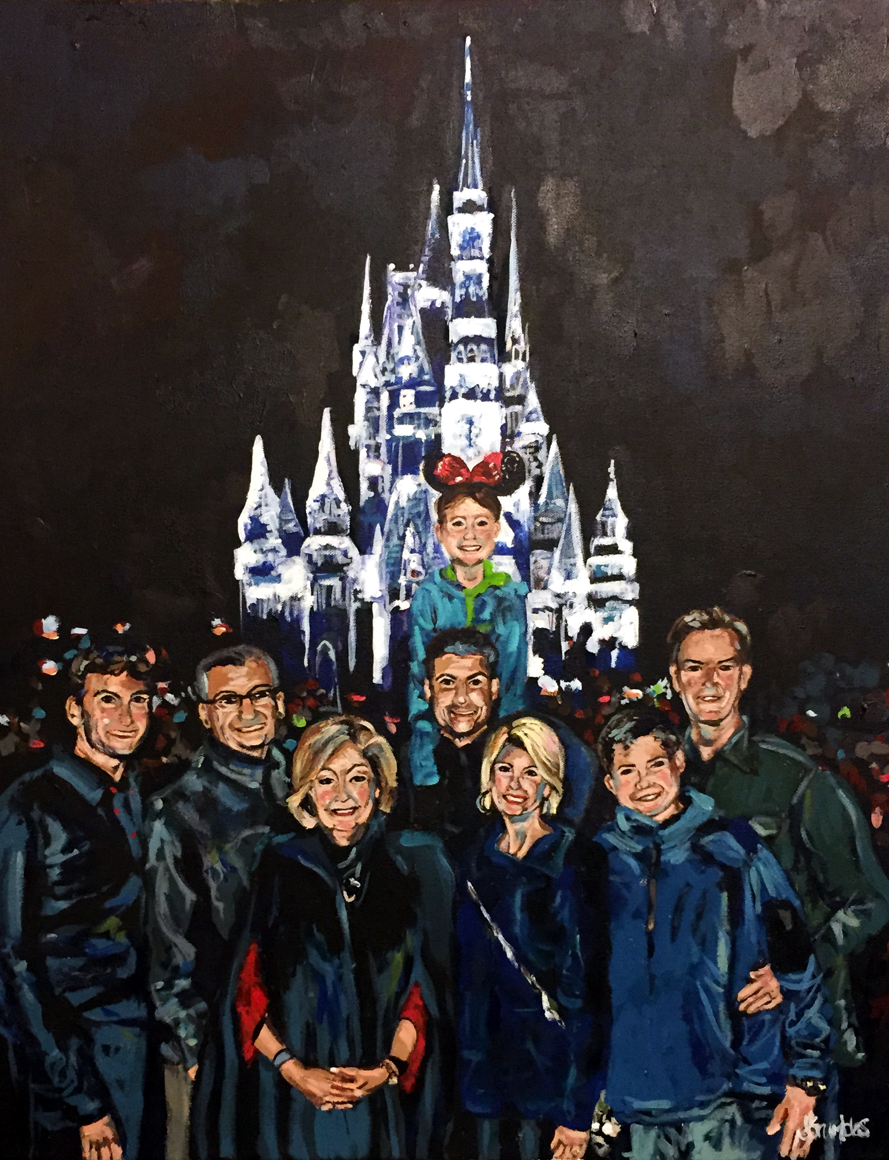 Disney Birthday 24x30