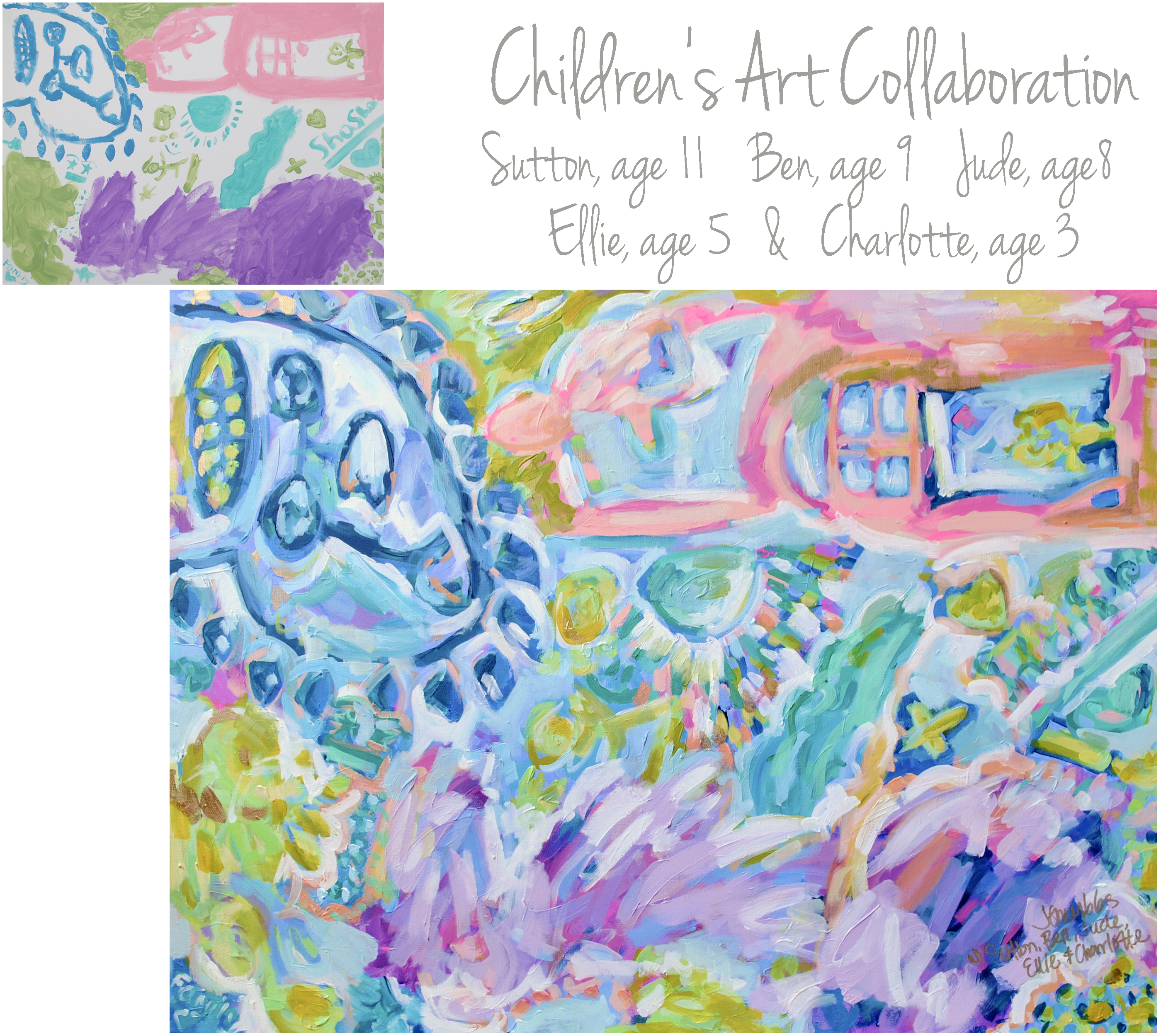 Moss & Hughes Children Collab 30x40