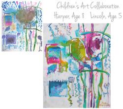 Jones Children Collab 48x60