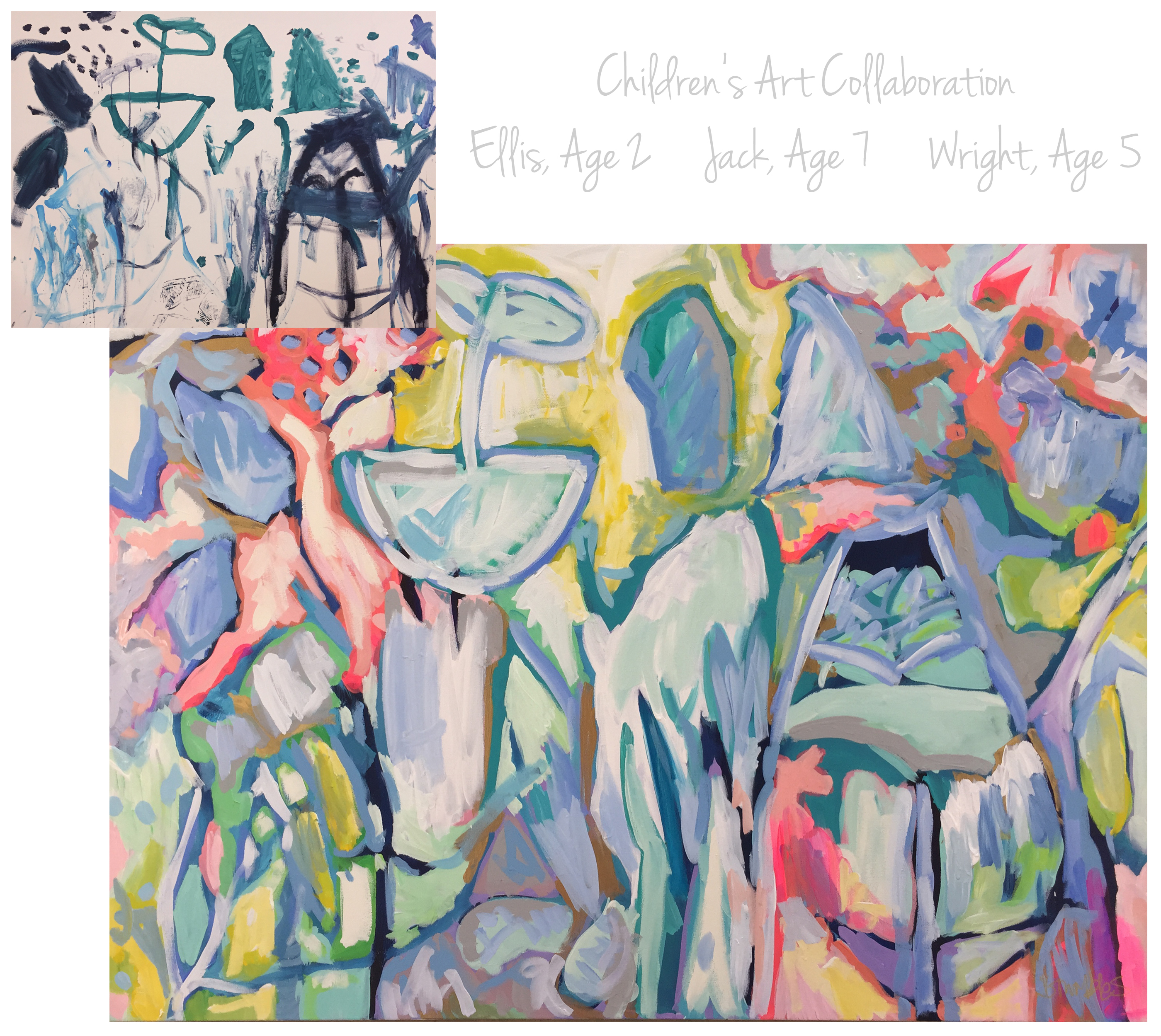 Abney Children Collab 48x60