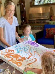 Children's Art Collaborations