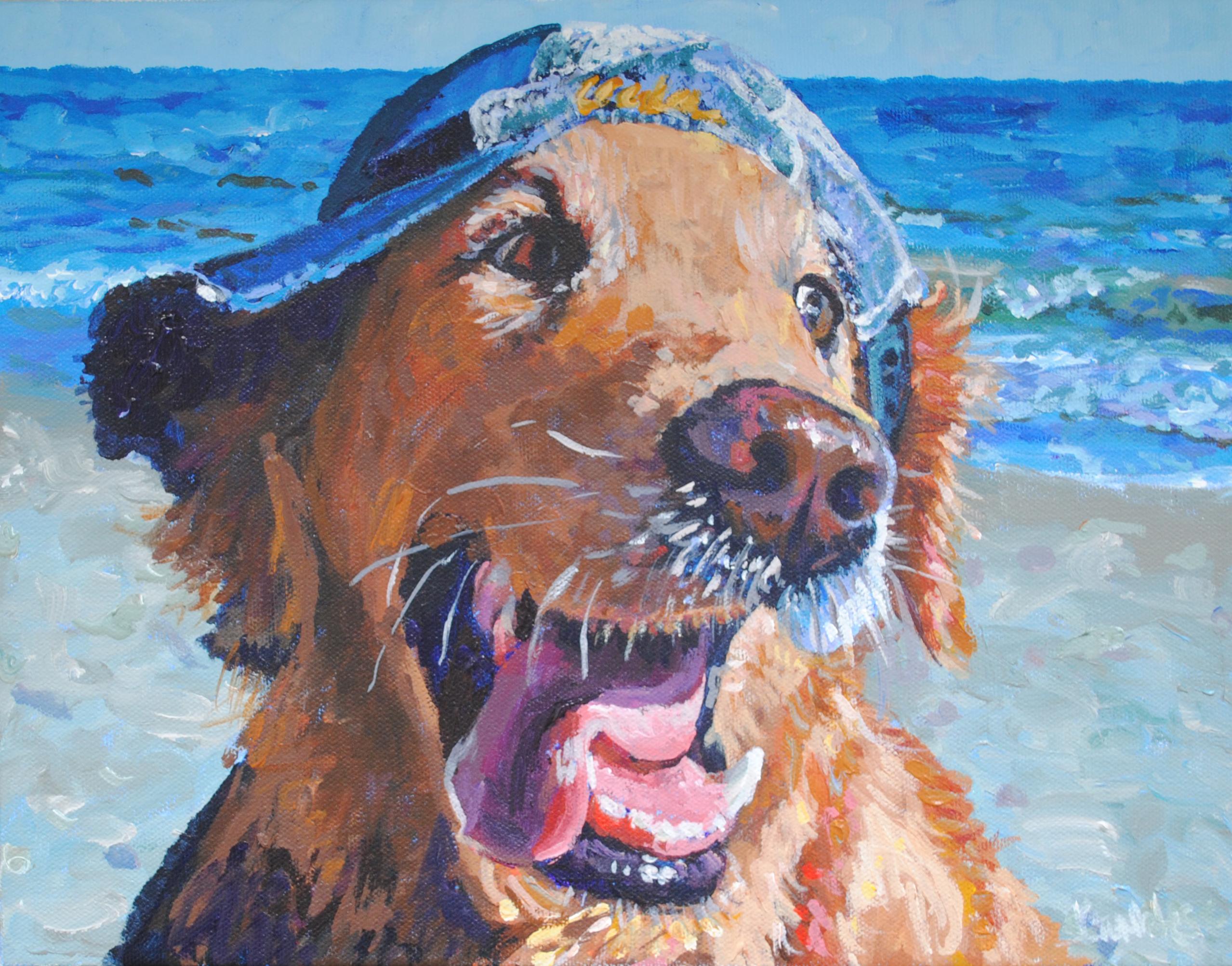 UCLA Dog 11x14