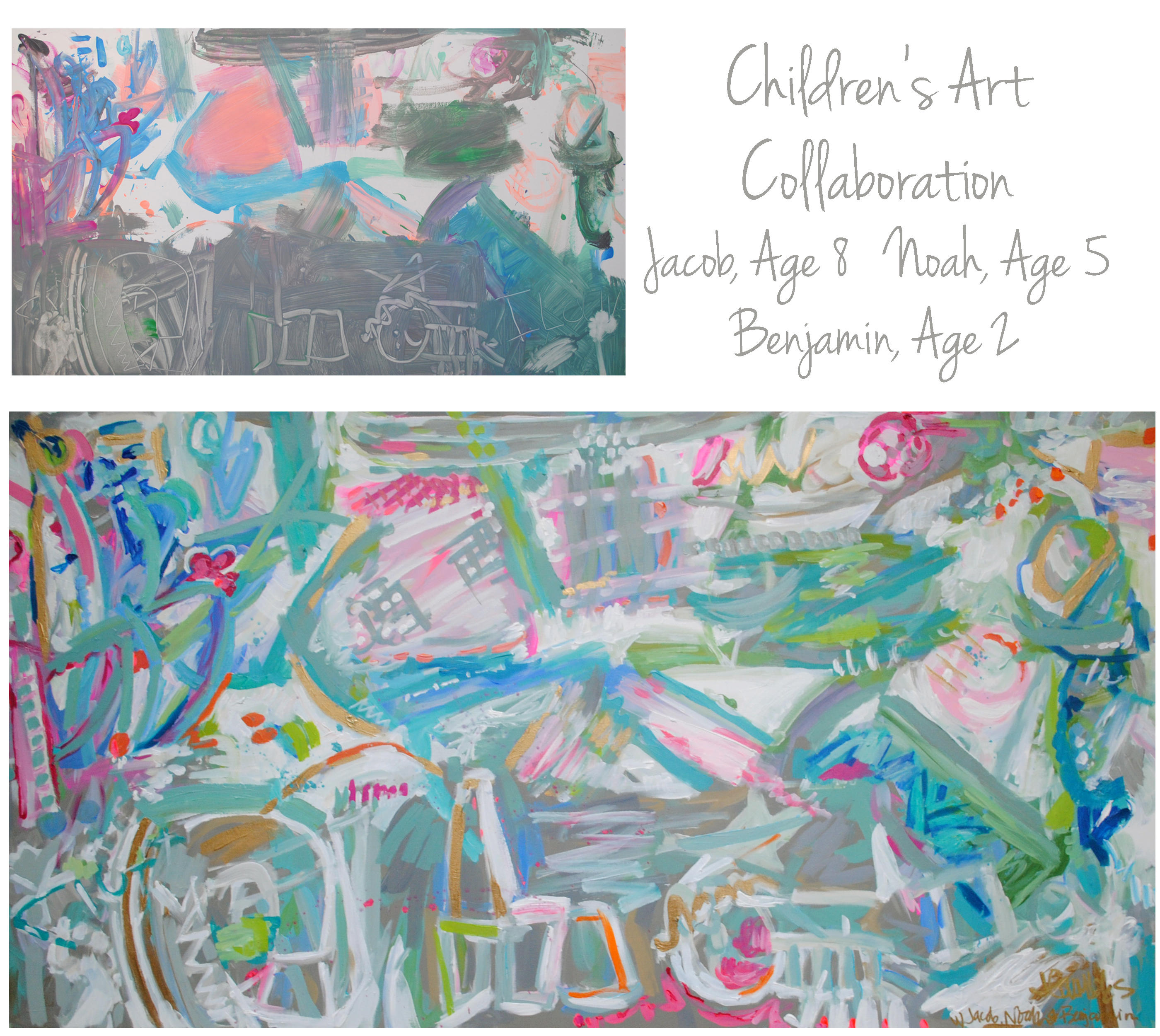 Gail Children Collab 30x55