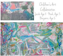 Gail Children Collab 30x55