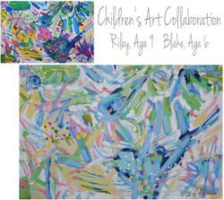 Sykes Children Collab 30x40
