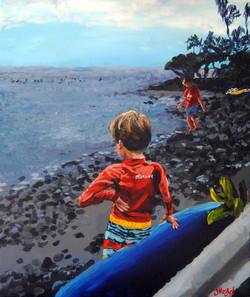 Hawaii 20x24