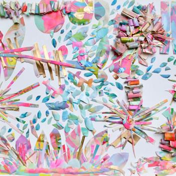 Pink Palette 24x36