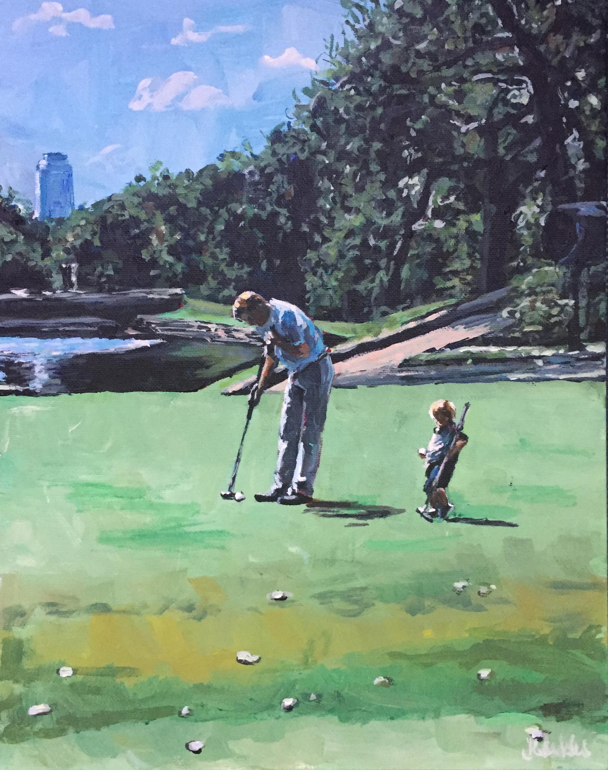 Golf Buddies 11x14