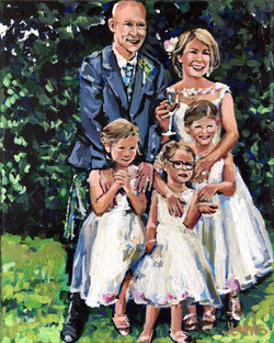 Scotland Wedding Family 8x10
