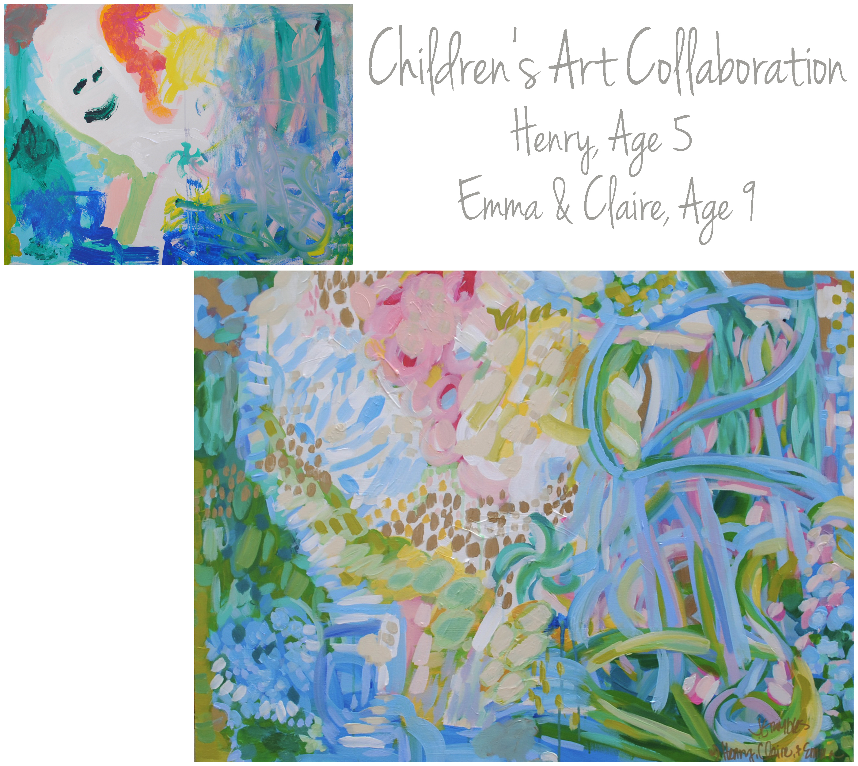 Irving Children Collaboration 30x40