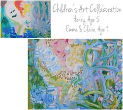 Irving Children Collaboration 30x40