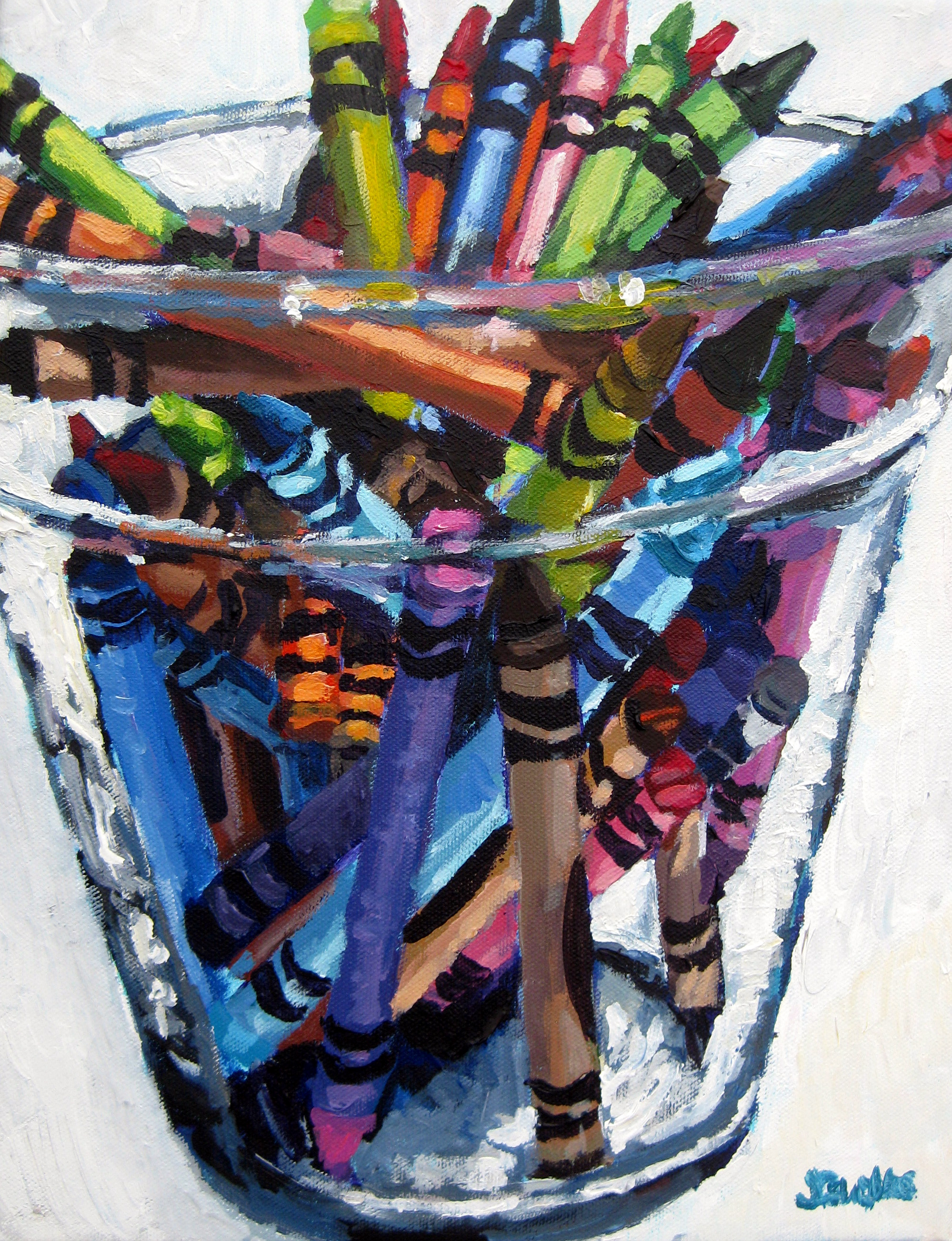Crayons 3 11x14