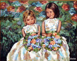 Flower Girls 24x30