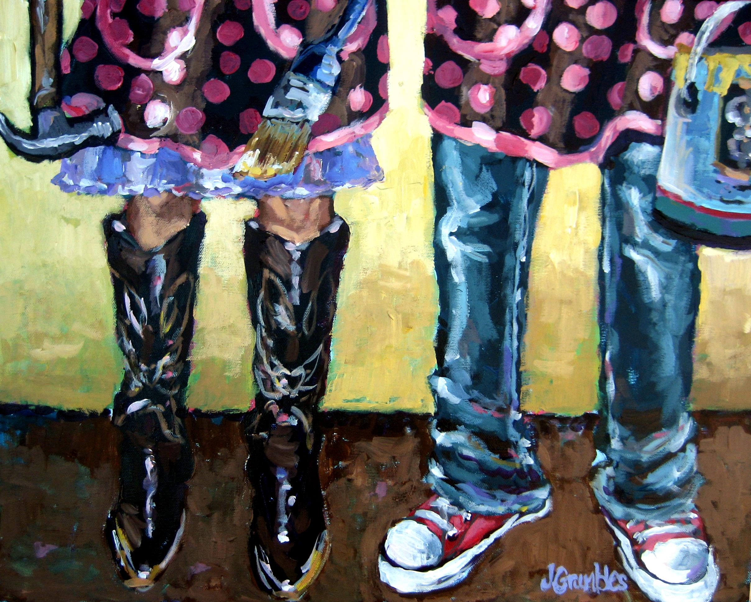 Uptown Girls 12x16