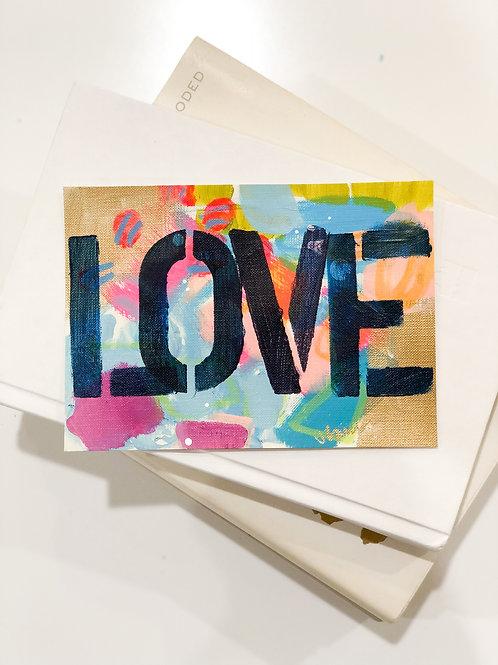 Original Lover Painting Unframed #14