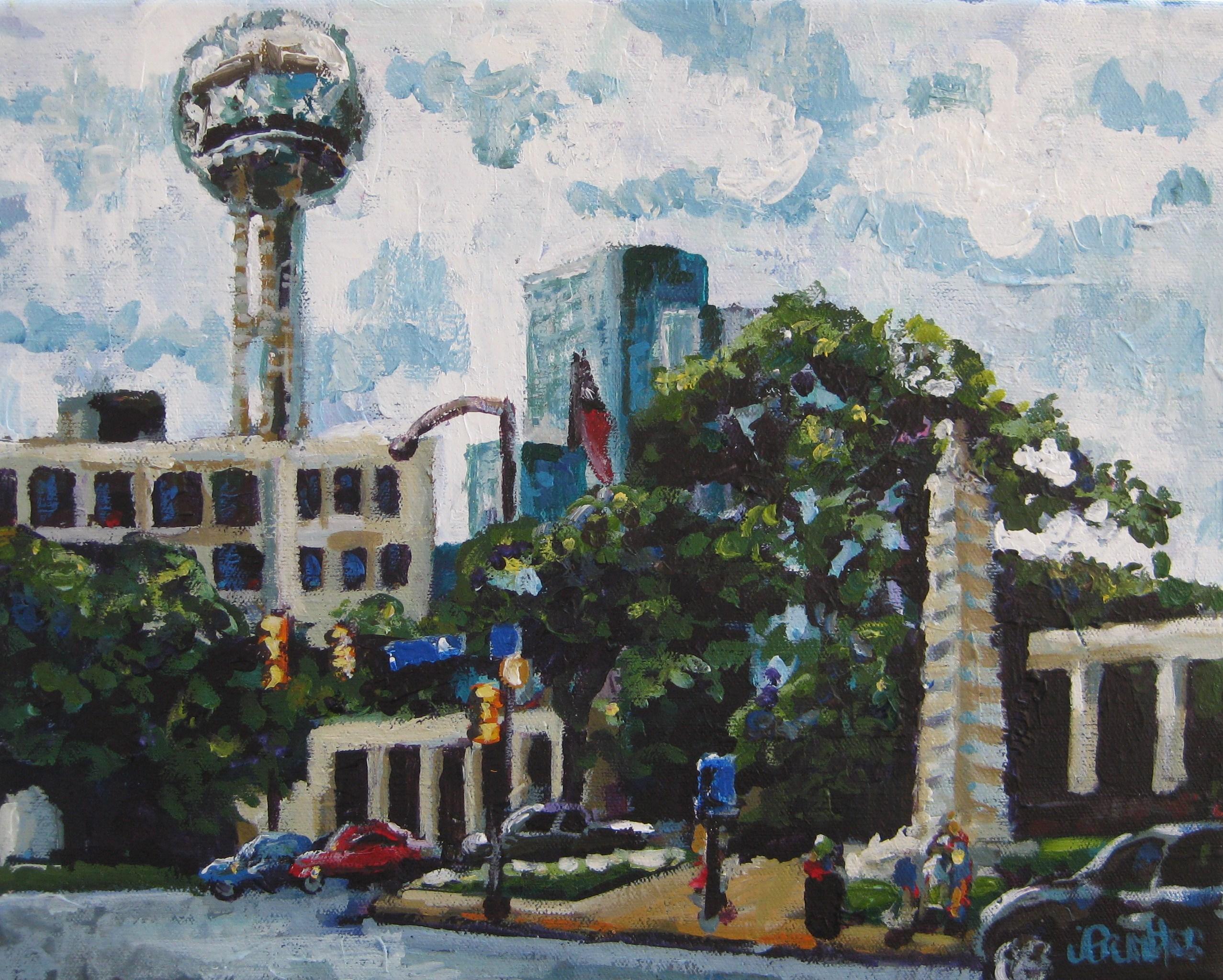 Dealy Dallas 12x16