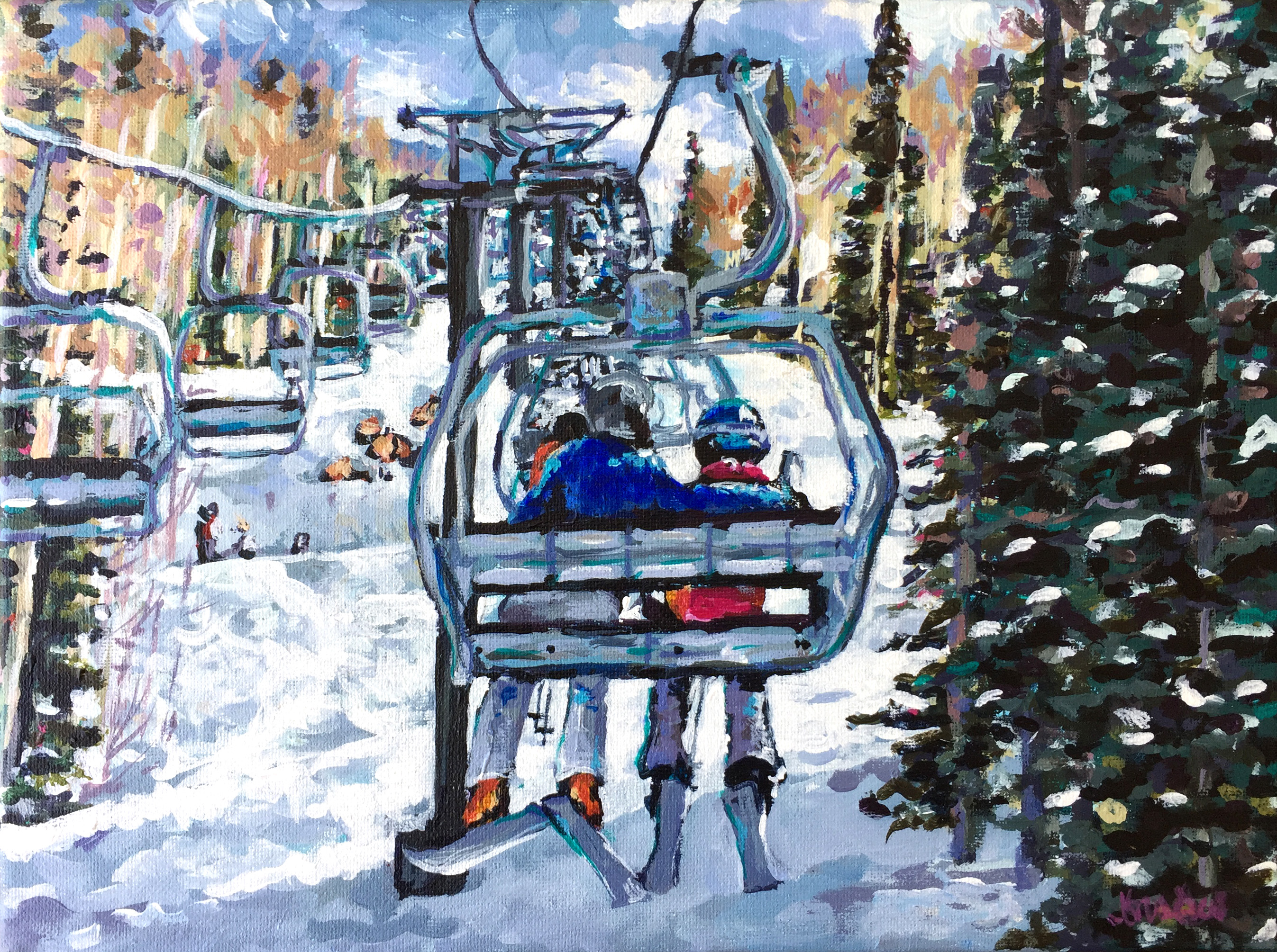 Chairlift 9x12