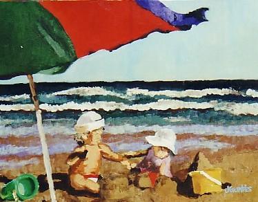Beach Baby No 22 12x16