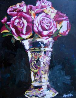 Vintage Roses 11x14