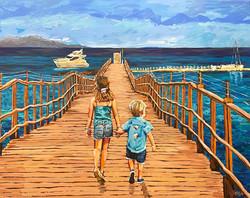 Sufi Pier Kids 48x60