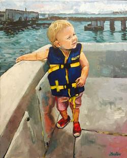 Boat Baby 16x20