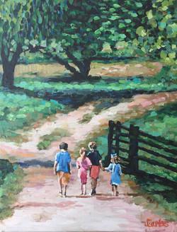 Ranch Kids 11x14