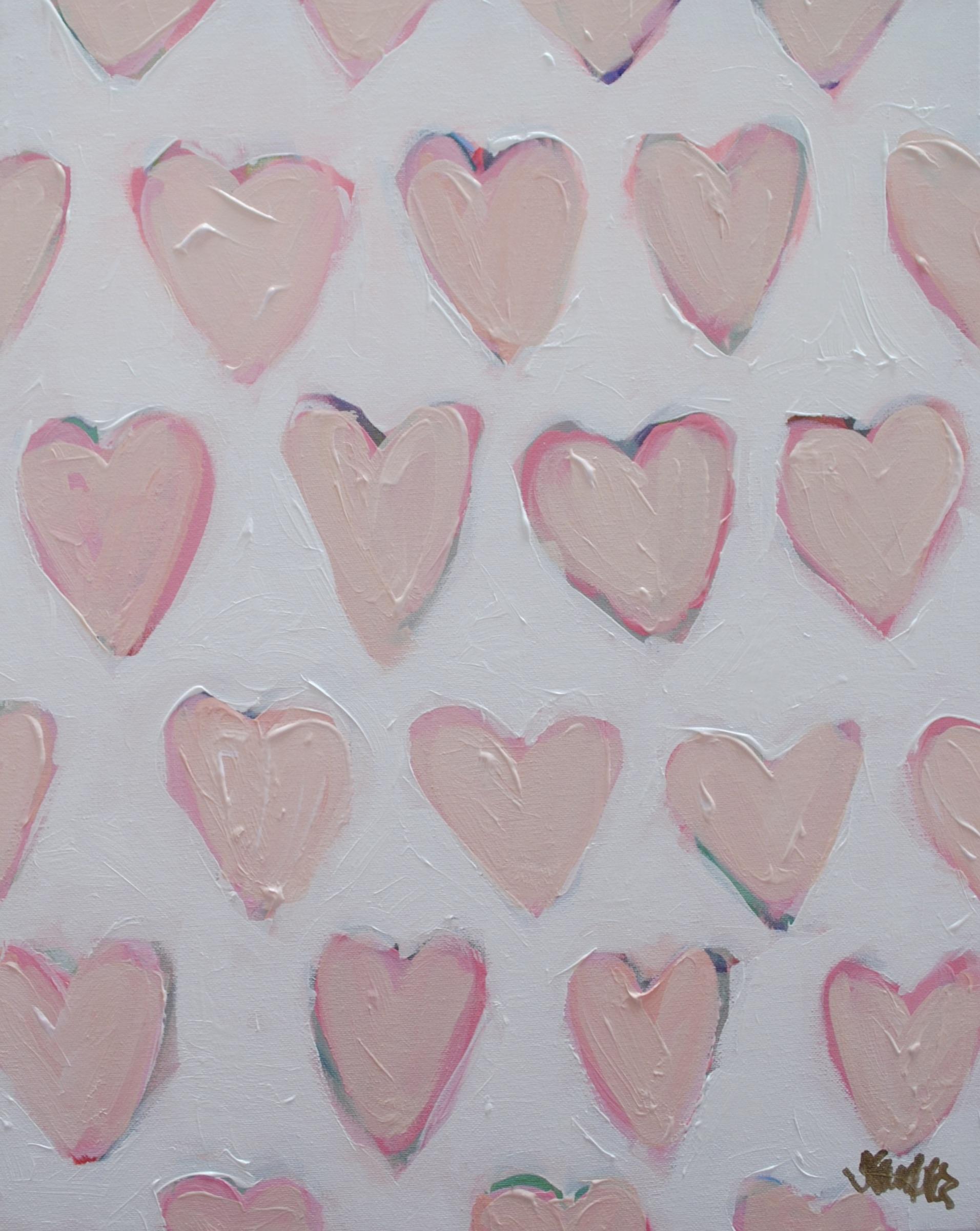 Love. Repeat. (Pink) 16x20