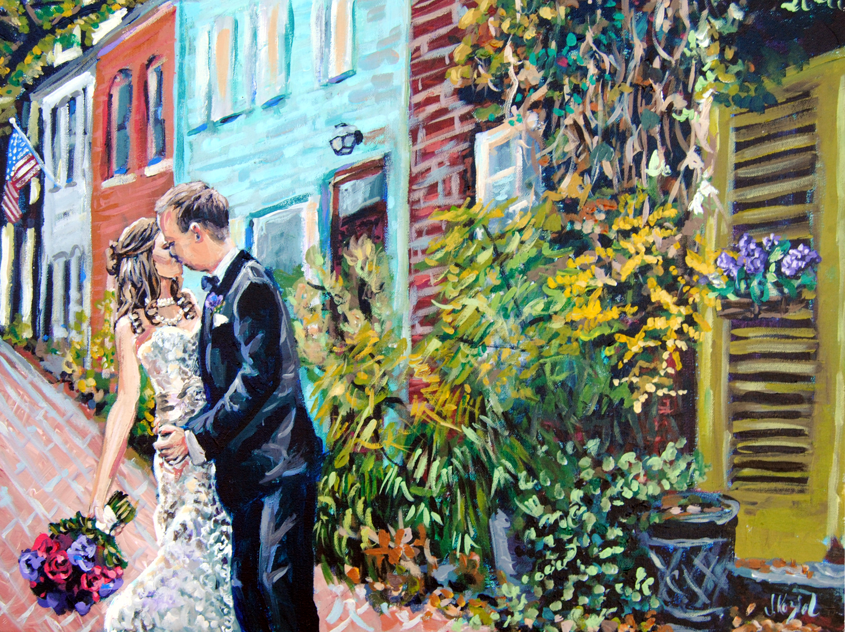 Reeves Married 18x24